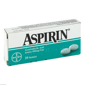 Aspirin 500mg Tabletten